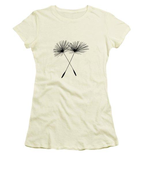 Dandelion Duo  Women's T-Shirt (Athletic Fit)