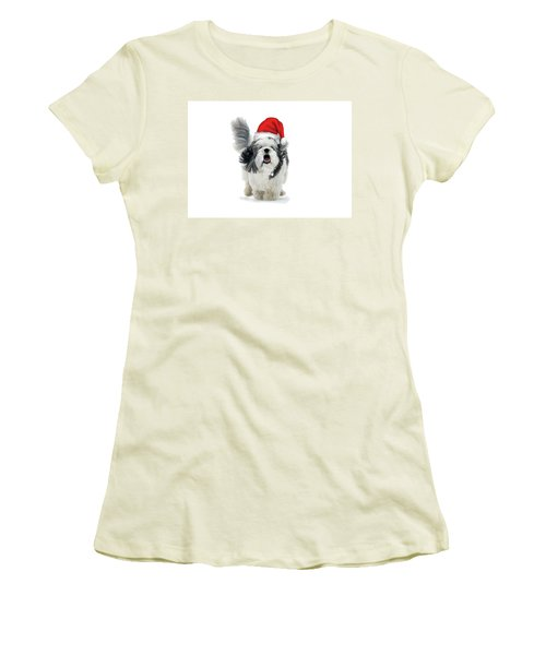 Dashing Through The Snow Women's T-Shirt (Athletic Fit)