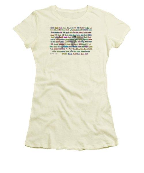 David Women's T-Shirt (Athletic Fit)