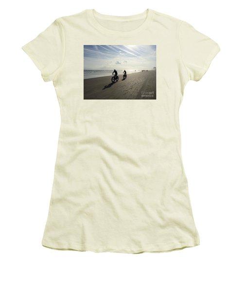 Daytona Beach Bikers Women's T-Shirt (Athletic Fit)