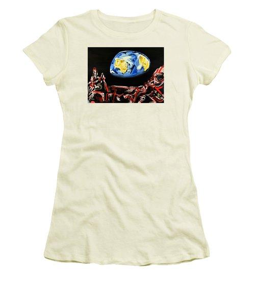 Death By Starlight Women's T-Shirt (Junior Cut) by Ryan Demaree