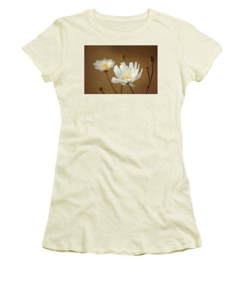 Women's T-Shirt (Junior Cut) featuring the photograph Death Valley Superbloom 303 by Daniel Woodrum