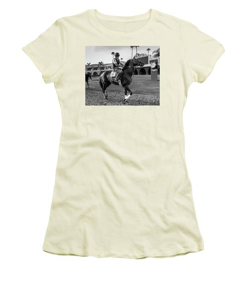 Del Mar Show Off Women's T-Shirt (Athletic Fit)