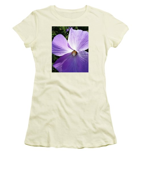 Delicate Flower Women's T-Shirt (Athletic Fit)