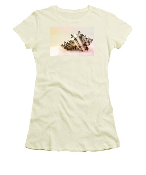 Delicate Shell Women's T-Shirt (Junior Cut) by Teresa Zieba