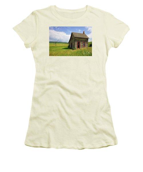 Denmark Jensen Home Women's T-Shirt (Athletic Fit)