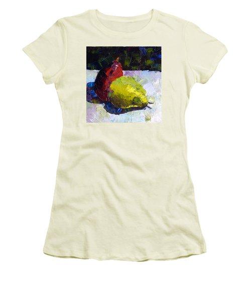 Deux D'anjou Women's T-Shirt (Junior Cut) by Susan Woodward