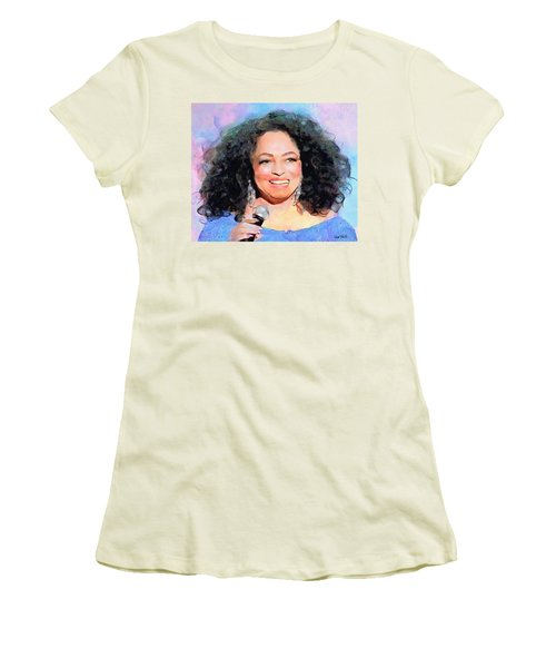 Diana Ross Women's T-Shirt (Athletic Fit)