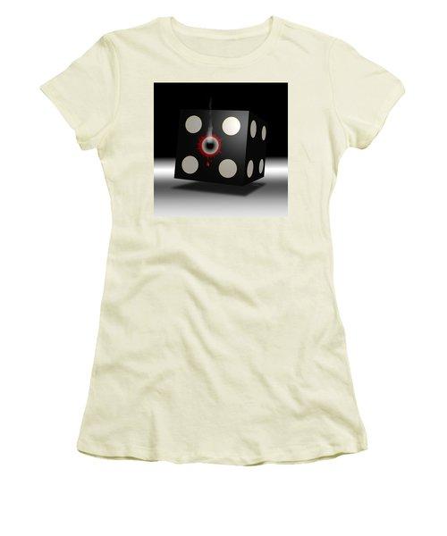 Five Die Women's T-Shirt (Athletic Fit)