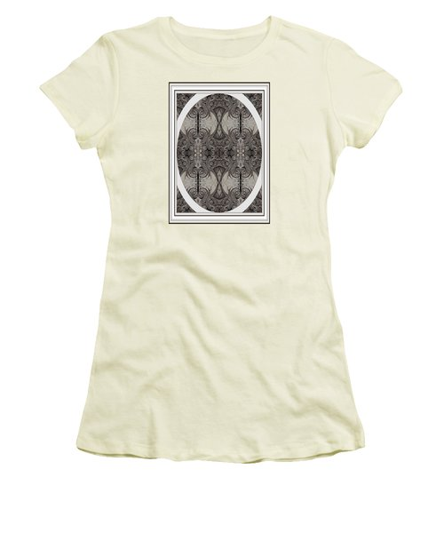 Women's T-Shirt (Junior Cut) featuring the photograph Digitized Ballpoint Image Twenty One by Jack Dillhunt
