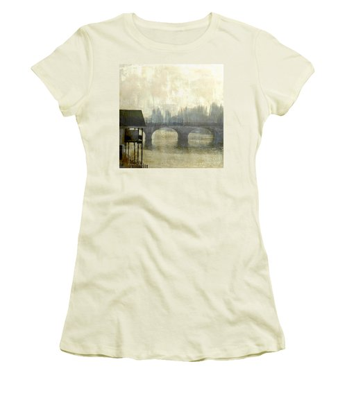 Dissolving Mist Women's T-Shirt (Junior Cut) by LemonArt Photography