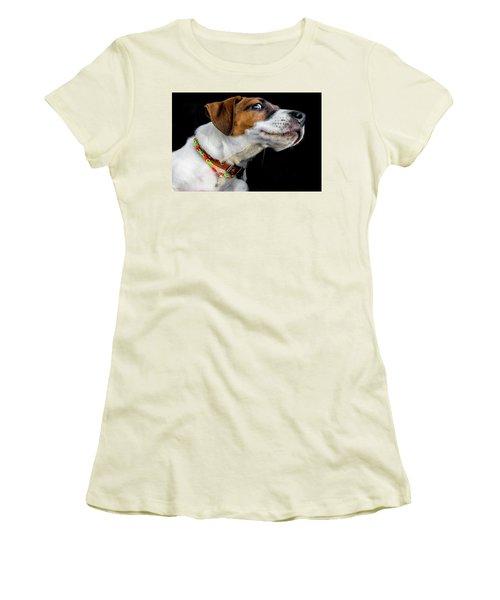 Do Not Confuse Me Women's T-Shirt (Junior Cut) by Alex Galkin