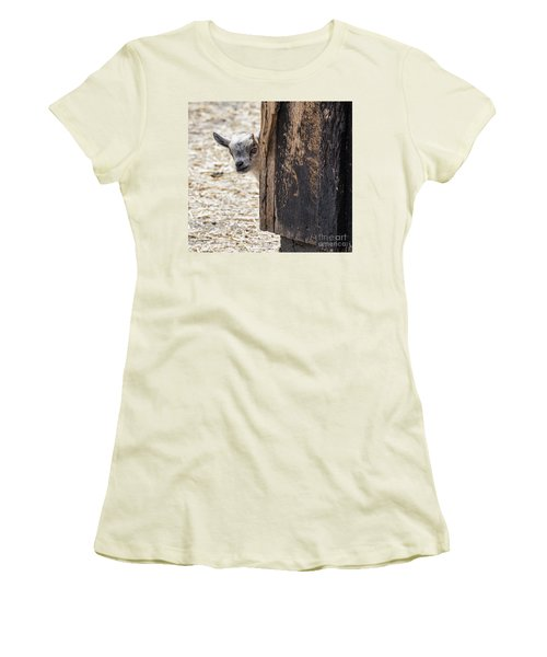Do You Think Mom Saw Me Women's T-Shirt (Junior Cut) by Judy Wolinsky