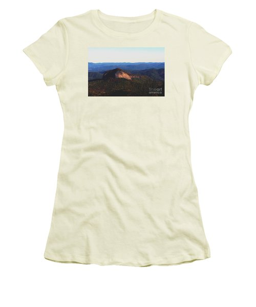 Women's T-Shirt (Junior Cut) featuring the photograph Dome Top by Debra Crank