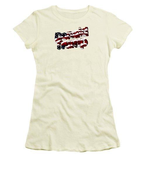 Donald Trump Women's T-Shirt (Junior Cut) by Ericamaxine Price