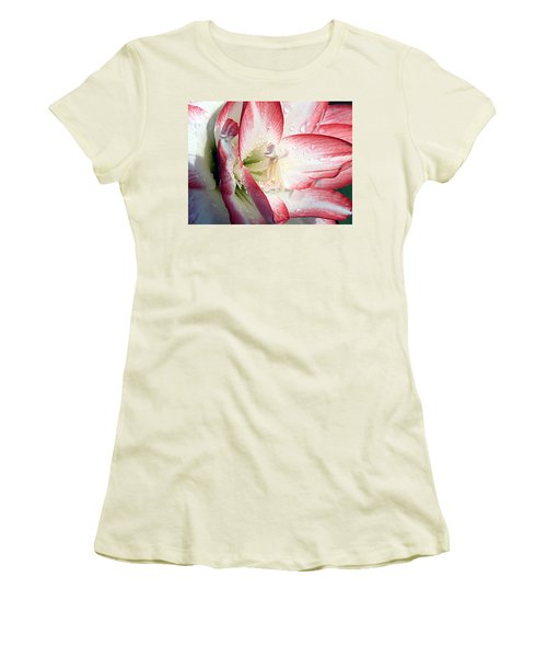 Double Amaryllis Women's T-Shirt (Athletic Fit)