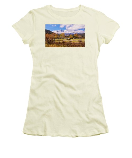 Double Rl Ranch Women's T-Shirt (Athletic Fit)
