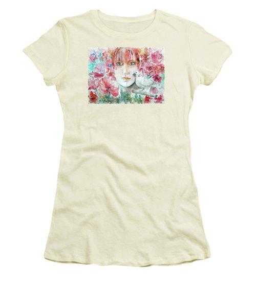 Dove Women's T-Shirt (Junior Cut) by Jasna Dragun