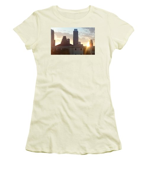 Downtown Austin Women's T-Shirt (Athletic Fit)