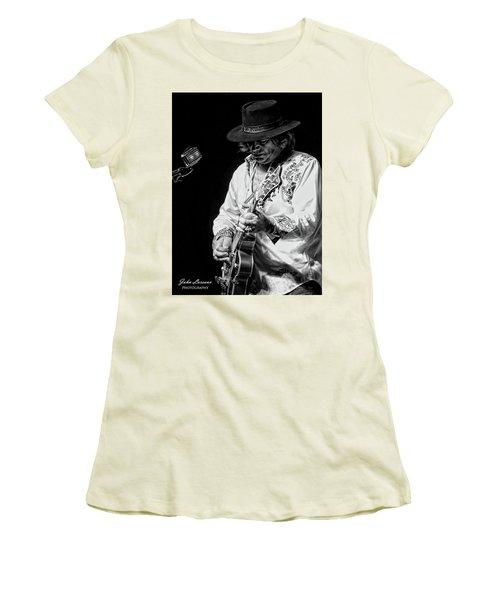 Dr. Phil Bw Women's T-Shirt (Junior Cut) by John Loreaux