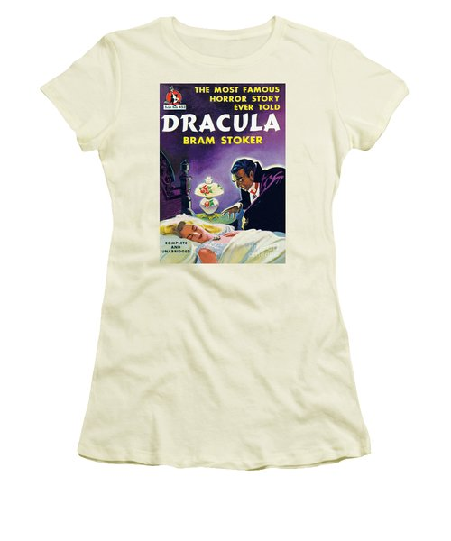 Dracula Women's T-Shirt (Junior Cut) by Unknown Artist
