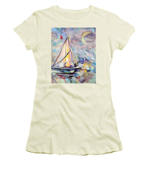 Dream Boat Women's T-Shirt (Athletic Fit)