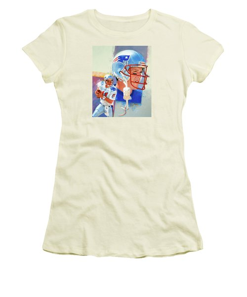Drew Bledsoe Women's T-Shirt (Athletic Fit)