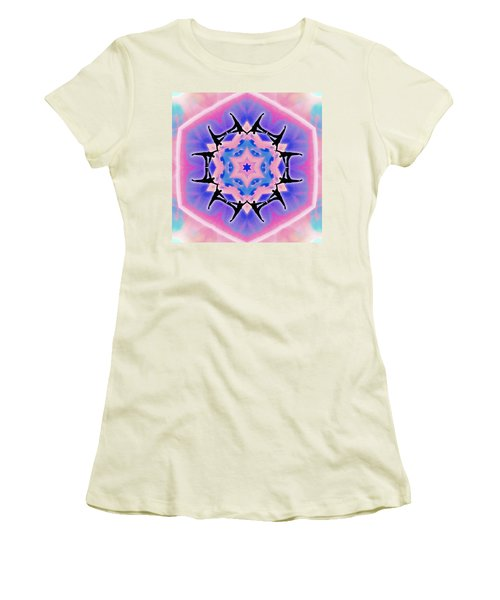 Women's T-Shirt (Athletic Fit) featuring the digital art Dublife by Derek Gedney