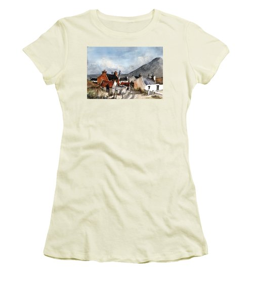 Dugort Clachan Achill Mayo Women's T-Shirt (Athletic Fit)