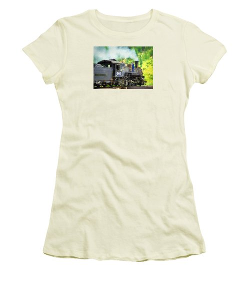 Durango And Silverton 480 Women's T-Shirt (Athletic Fit)