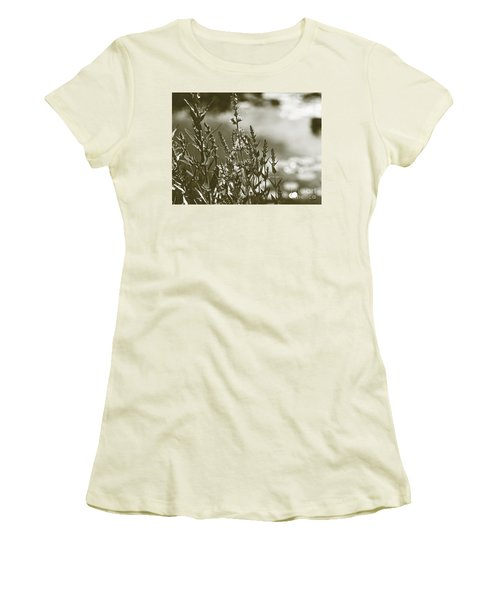Early Morning Reflections Women's T-Shirt (Athletic Fit)