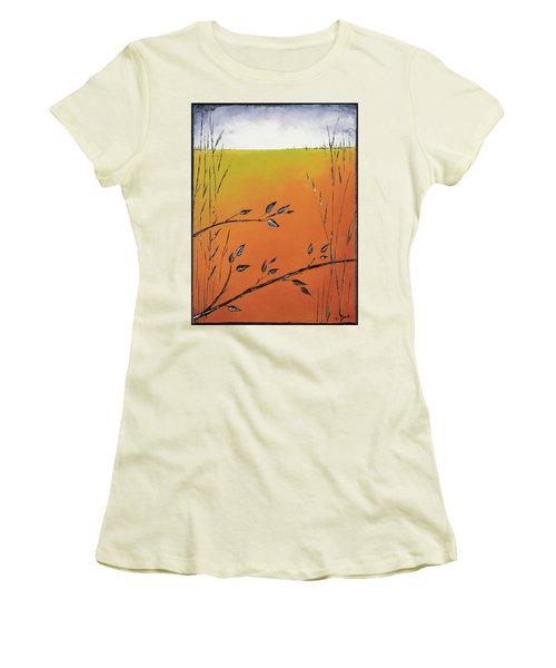 Early Spring  Women's T-Shirt (Athletic Fit)