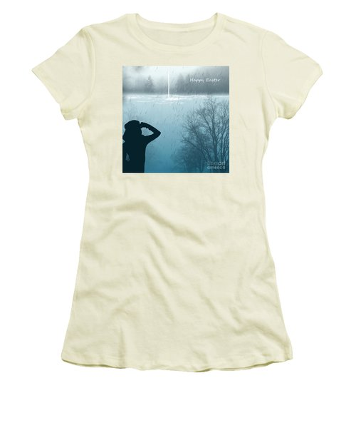 Easter 2016 Women's T-Shirt (Junior Cut) by Trilby Cole