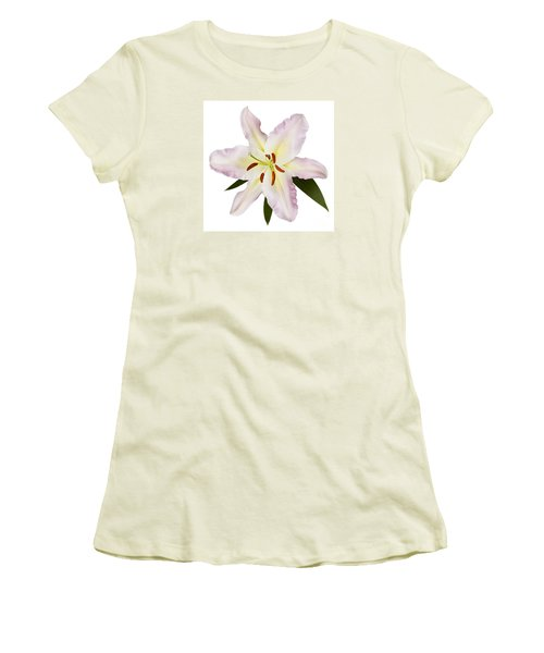 Easter Lilly 1 Women's T-Shirt (Junior Cut) by Tony Cordoza