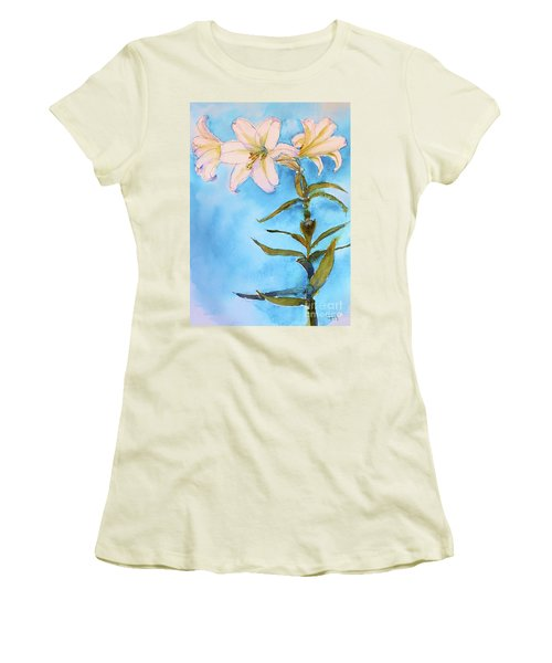 Easter Lily Women's T-Shirt (Athletic Fit)