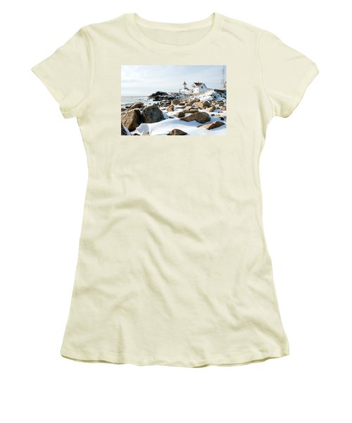 Eastern Point Light II Women's T-Shirt (Athletic Fit)