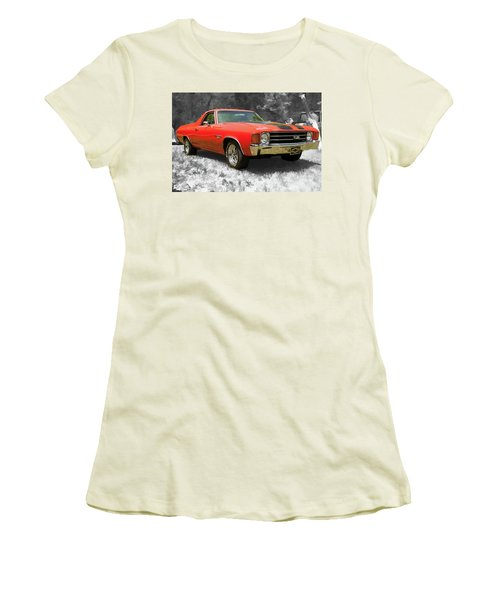 El Camino 1 Women's T-Shirt (Athletic Fit)