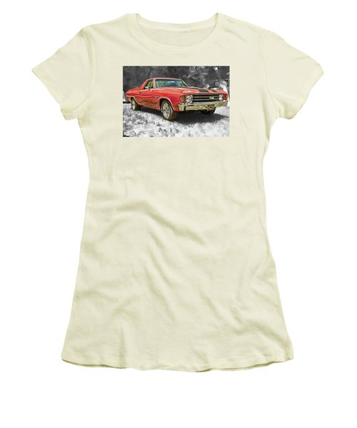El Camino 2 Women's T-Shirt (Athletic Fit)