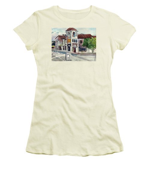 El Camino Real In San Carlos Women's T-Shirt (Athletic Fit)