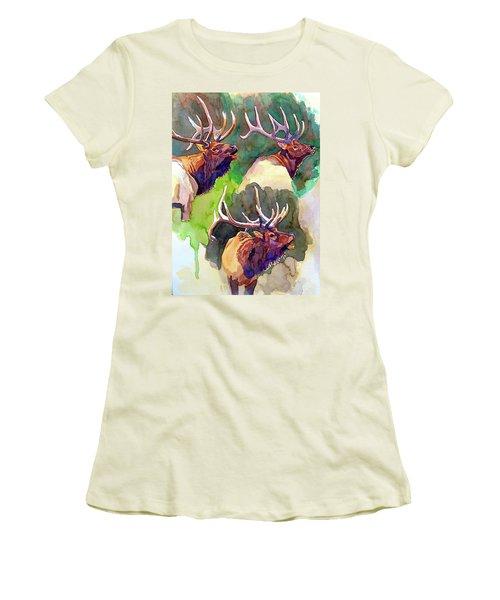 Elk Studies Women's T-Shirt (Athletic Fit)