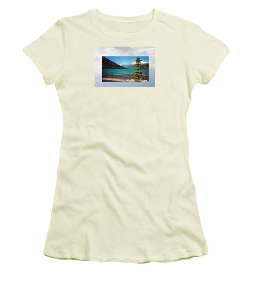 Emerald Lake Chilkoot Trail Alaska Women's T-Shirt (Athletic Fit)