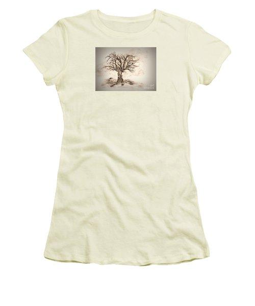 Enchanted 3 Women's T-Shirt (Junior Cut) by John Krakora
