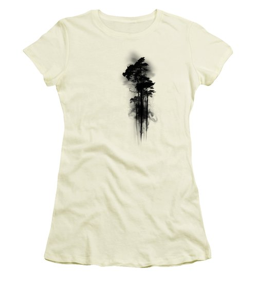Enchanted Forest Women's T-Shirt (Junior Cut) by Nicklas Gustafsson