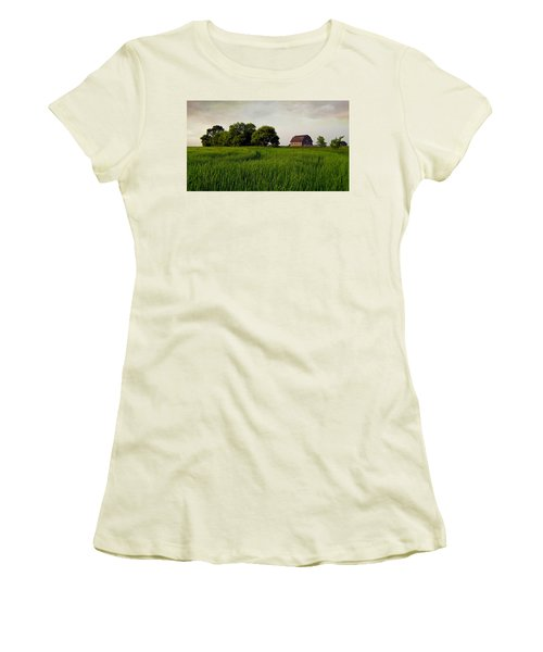 End Of Day Women's T-Shirt (Junior Cut) by Keith Armstrong