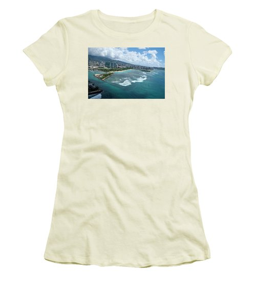 Endless Summer Women's T-Shirt (Junior Cut) by Lucinda Walter