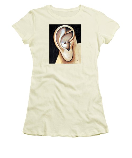 Lengua Detractora Women's T-Shirt (Athletic Fit)