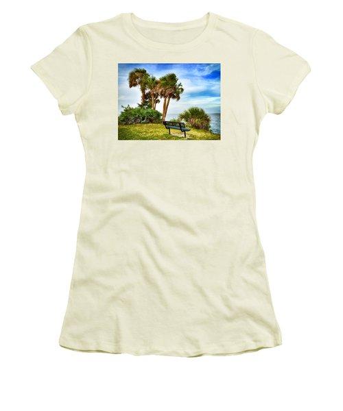 Esperare Women's T-Shirt (Junior Cut) by Carlos Avila