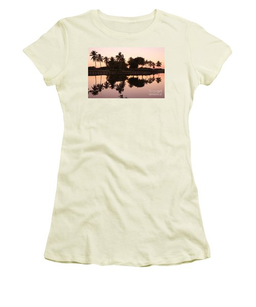 Evening In Pink Women's T-Shirt (Athletic Fit)