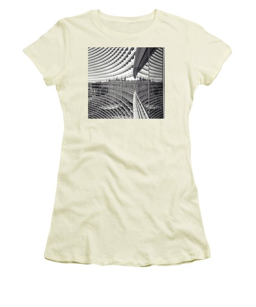 Women's T-Shirt (Athletic Fit) featuring the photograph Expanse by Alex Lapidus