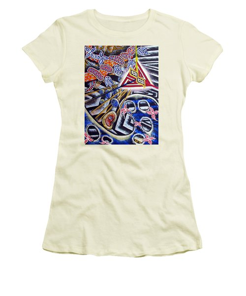 Expulsion Women's T-Shirt (Athletic Fit)